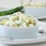 Salatka z młodych ziemniaków