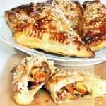 Ciasto francuskie z grzybami