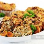 Muffiny z kurkami