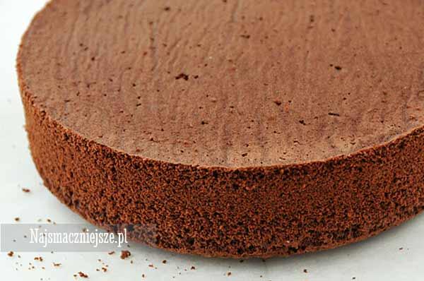 Biszkopt kakaowy bez proszku do pieczenia