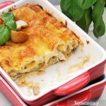Lasagne z białym sosem