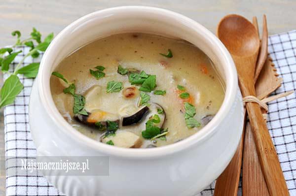 Zupa grzybowa na kwaśno