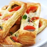 Ciasto francuskie z oregano