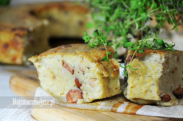 Babka z ziemniakami