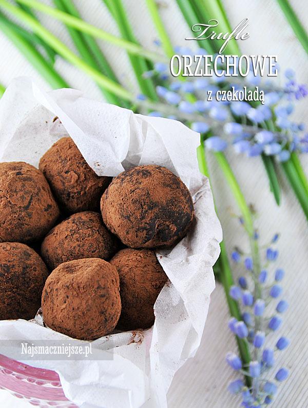 Trufle z czekoladą