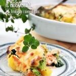 Zapiekanka z brokułem i ziemniakami