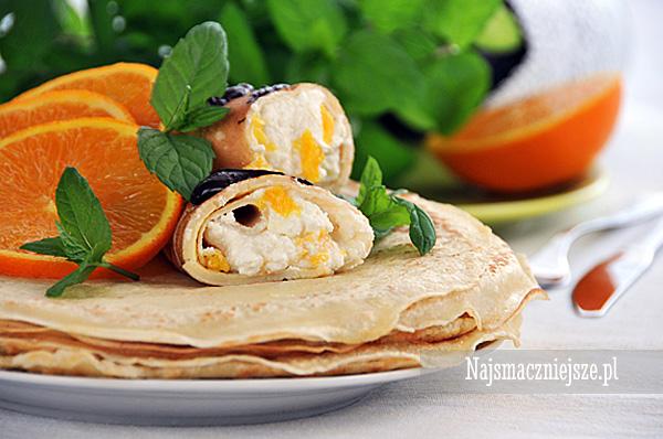 Naleśniki z pomarańczami