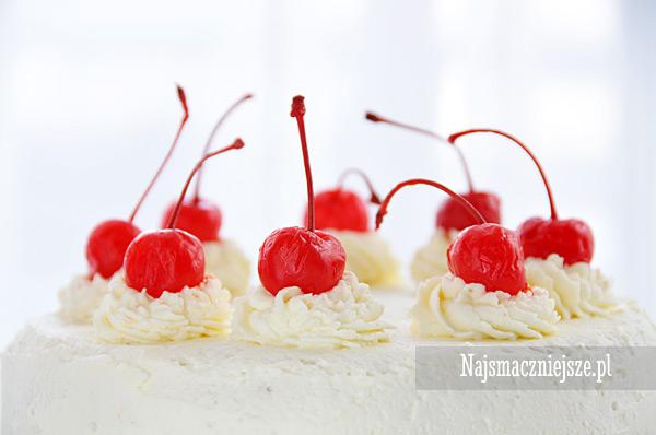 Tort wiśniowy dla mamy