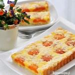 Serowa tarta z morelami