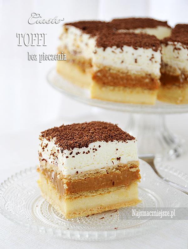 Ciasto Toffi