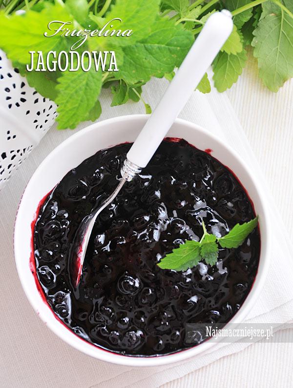 Domowa frużelina jagodowa