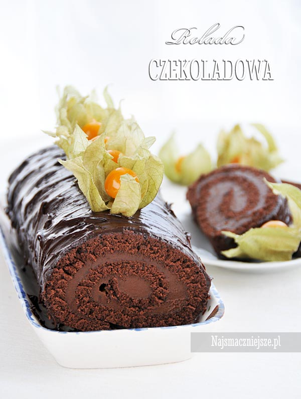 Rolada z czekoladą