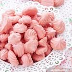 Różowe bezy