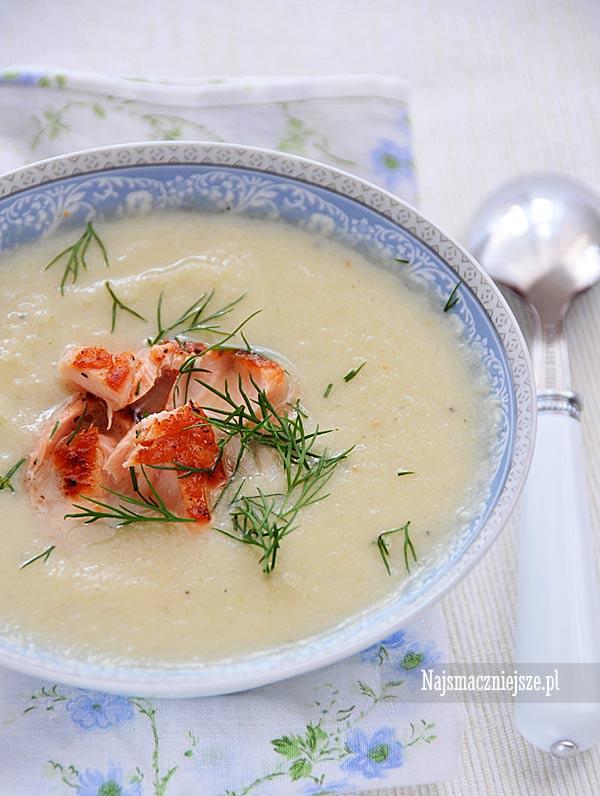 Zupa kalafiorowa z mleczkiem kokosowym