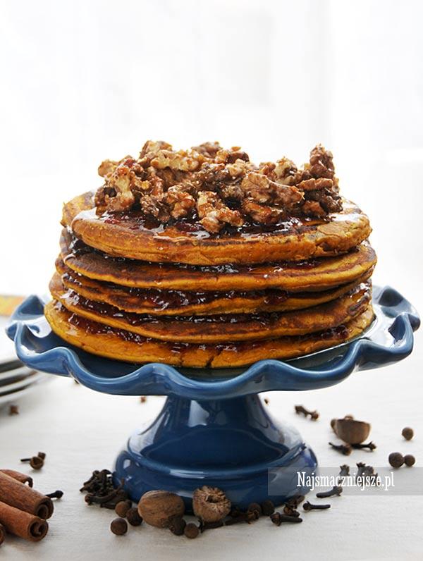 Korzenne placki z dyni – Pancakes