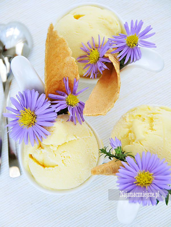 Domowe lody mango