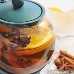 Herbata z pomarańczą