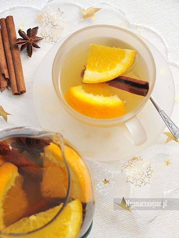 Herbata z pomarańczą i przyprawami