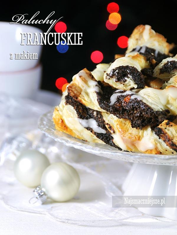 Ciasto francuskie z makiem