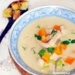Zupa rybna z pstrąga