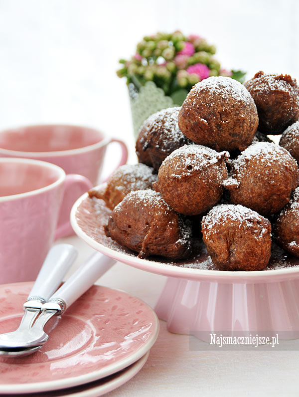 Pączki czekoladowe