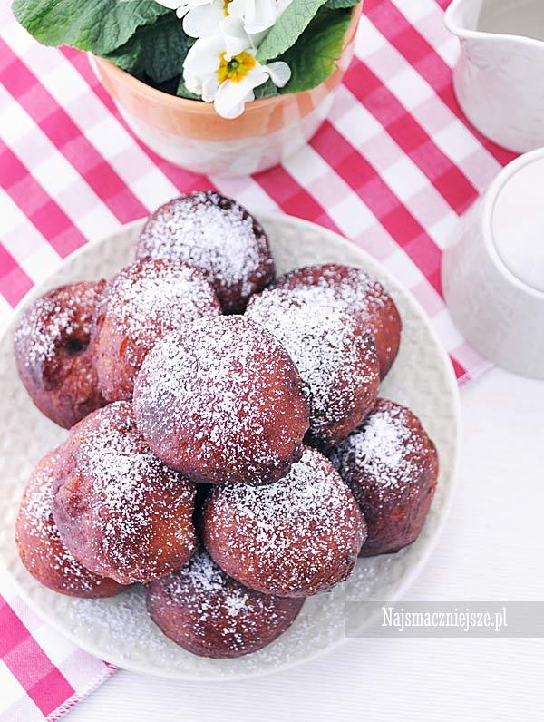 Pączki drożdżowe z ziemniakami