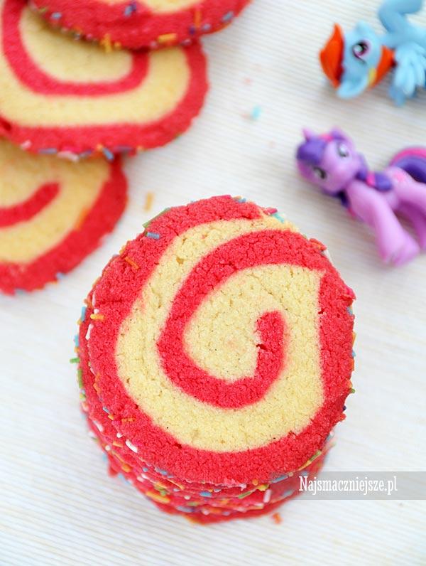 Zakręcone ciasteczka maślane