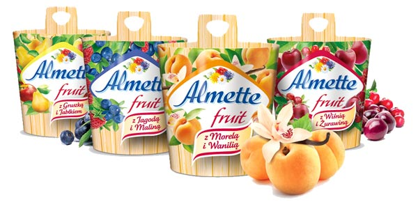 Konkurs z Almette fruit