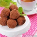 Trufle czekoladowe z wanilią