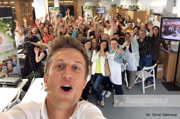 Selfie z Davidem Gaboriaud