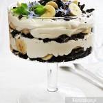 Trifle bananowe z oreo