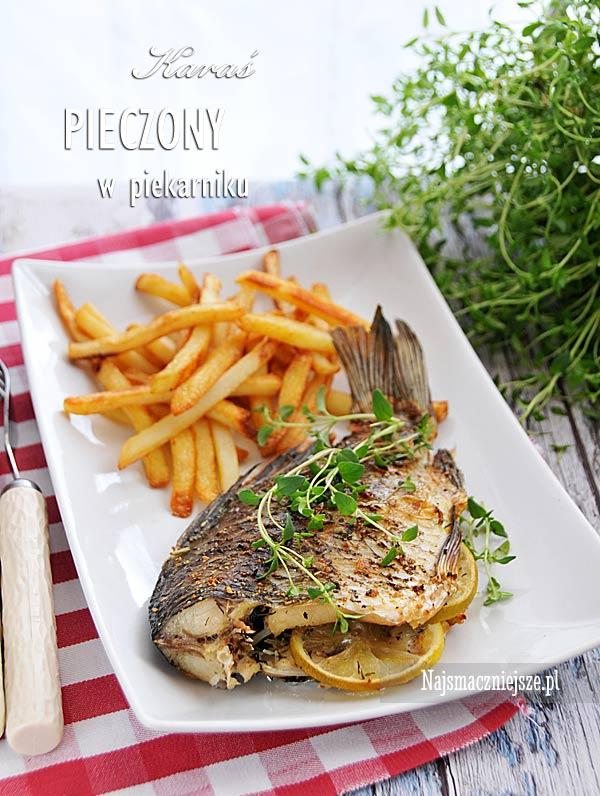 Ryba pieczona w piekarniku