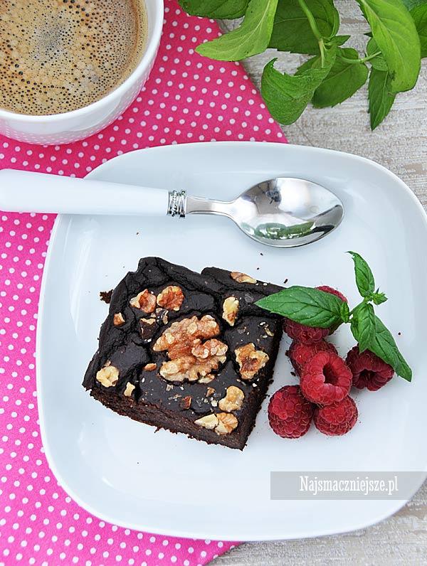 Brownie ciasto z kaszy