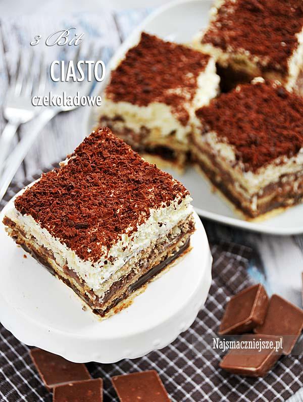 Czekoladowe ciasto 3 Bit