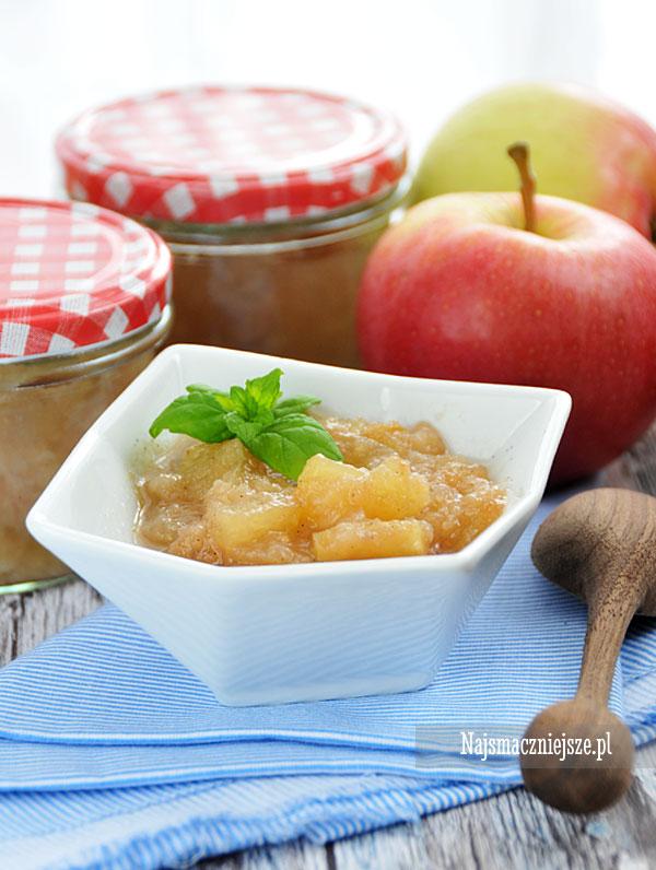 Mus jabłkowy z wanilią