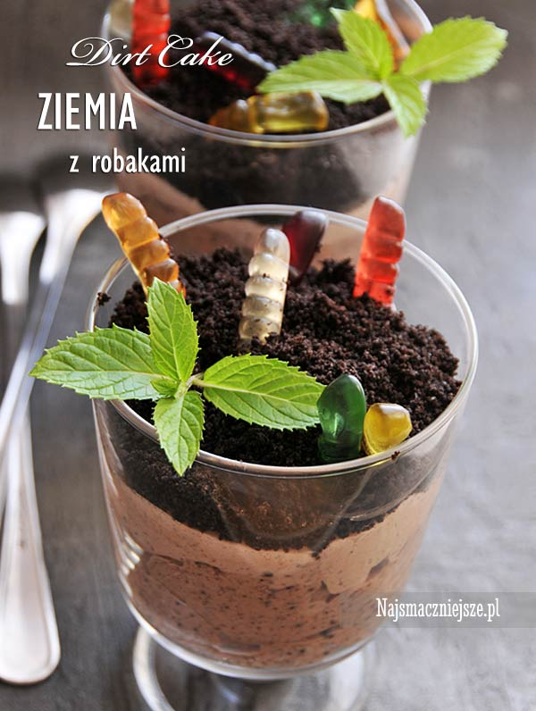 Ziemia z robakami (Dirt Cake)