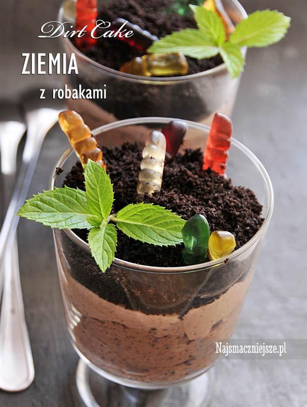 Ziemia z robakami (Dirt Cake)