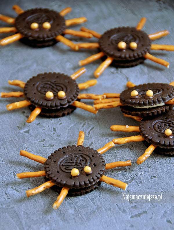 Ciasteczka pająki