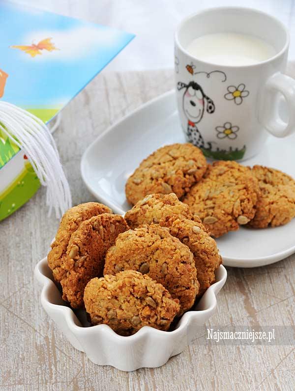 Szkolne ciasteczka ze słonecznikiem