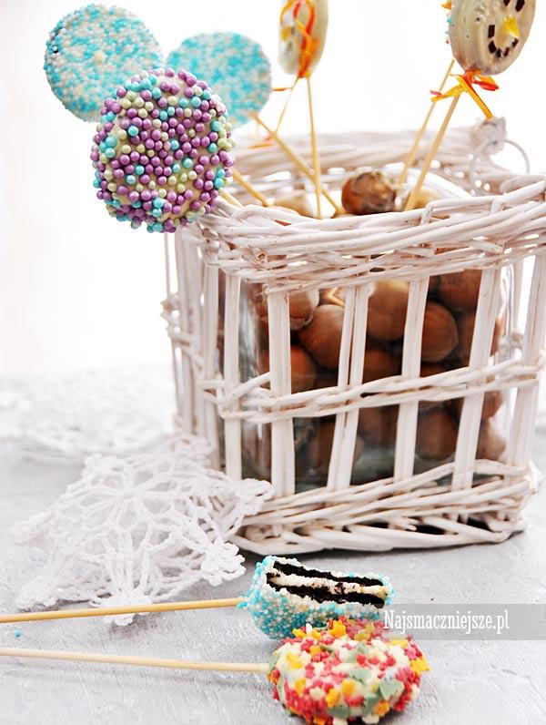 Cake pops Oreo