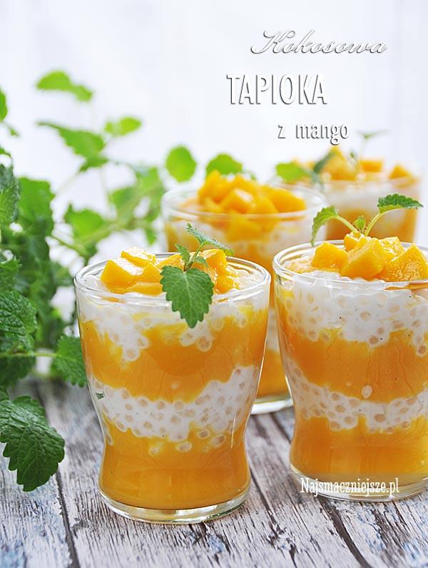 Deser kokosowy z tapioką
