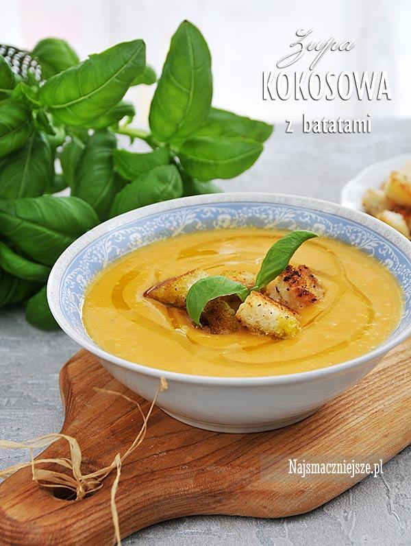 Zupa z batatami