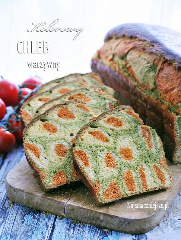 Chleb z warzywami