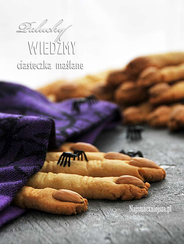 Ciasteczka maślane na Halloween