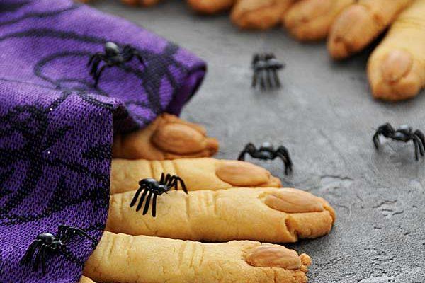 Ciasteczka palce wiedźmy