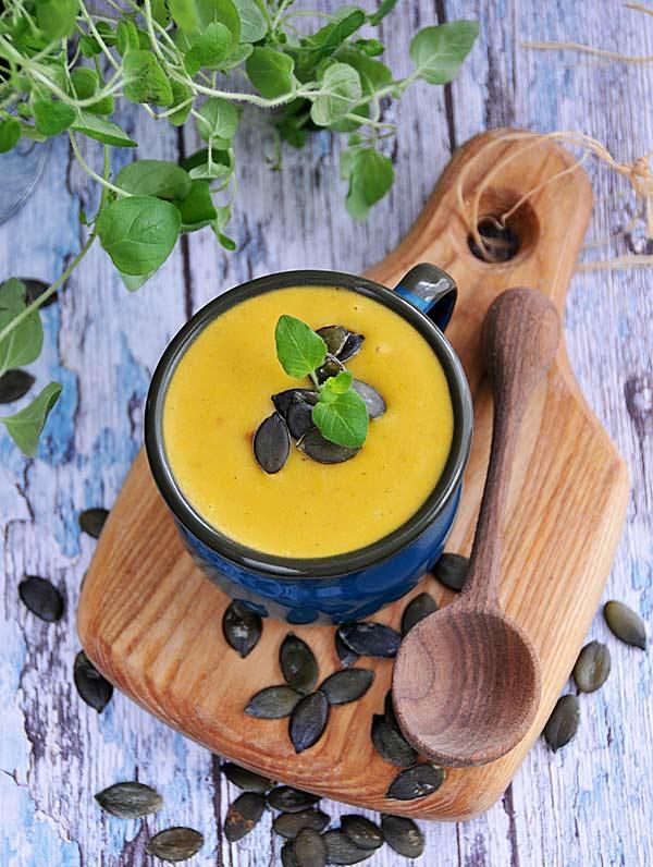 Kokosowa zupa z dyni