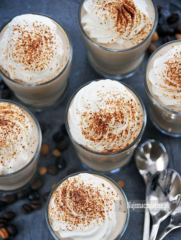 Delikatna panna cotta kawowa