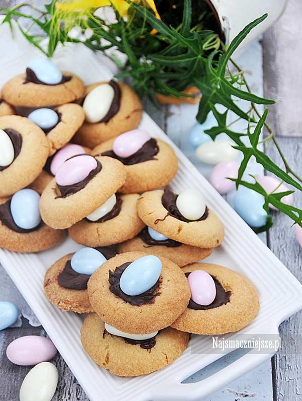 Wielkanocne ciasteczka maślane