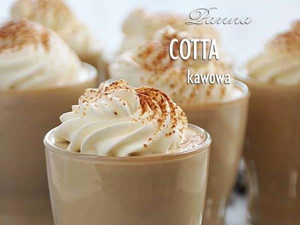 Kawowa Panna Cotta