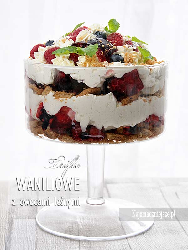 Trifle waniliowe